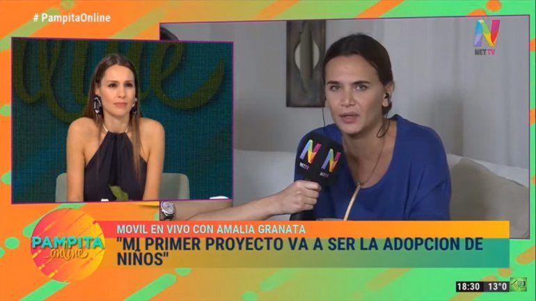 Granata, irrespetuosa y soberbia con Pampita: Van a tener que seguir abortando en la clandestinidad