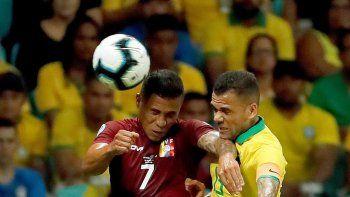 brasil merecio mas, pero no pudo con venezuela ni el var