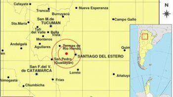 un sismo sorprendio a santiago del estero