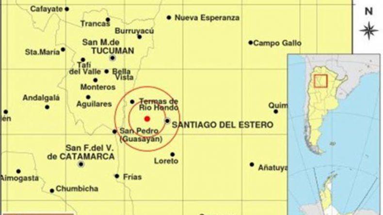 Un sismo de 3,8 grados en la escala de Richter sorprendió a Santiago del Estero