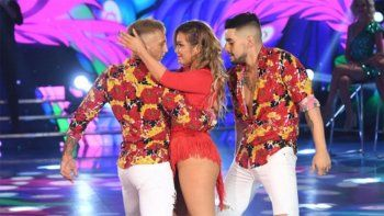 bailando: la princesita y el polaco se sacaron chispas
