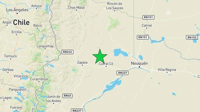Un sismo cerca del yacimiento El Mangrullo se sintió en Sauzal Bonito