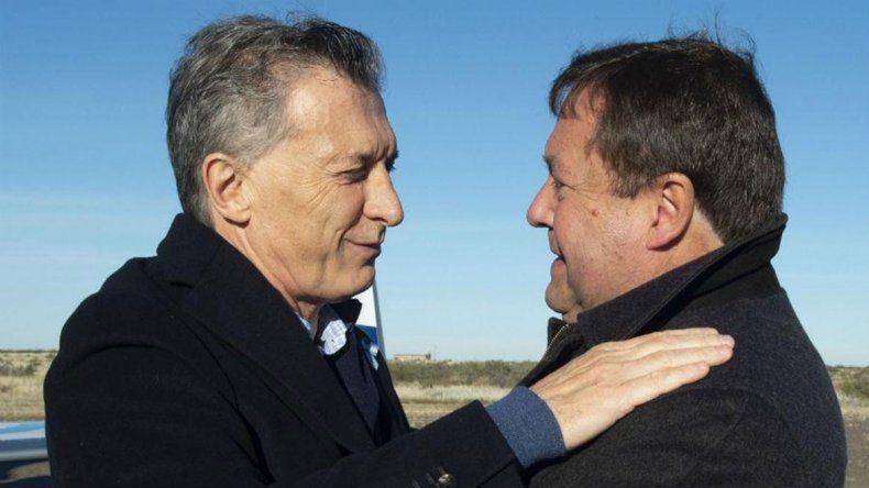 Macri retuiteó a Weretilneck por el garantismo en la Justicia