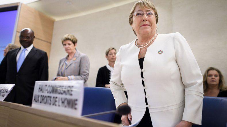 Bachelet está en Venezuela y se verá con Maduro