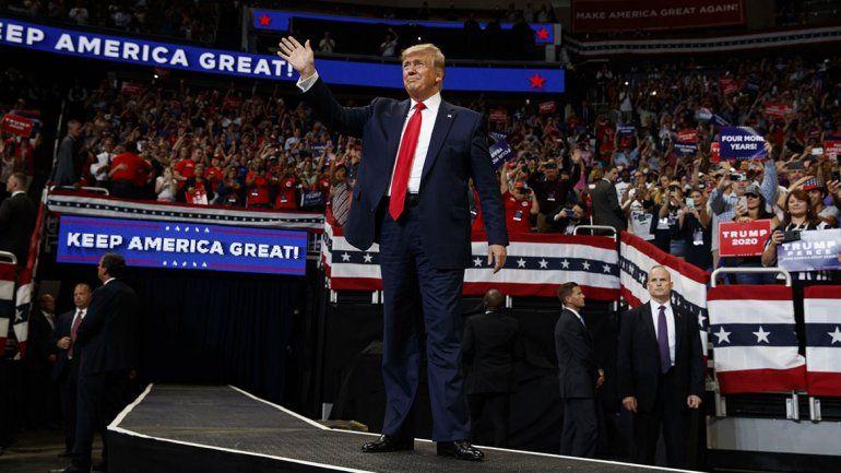 Trump oficialmente lanzó su campaña para la reelección