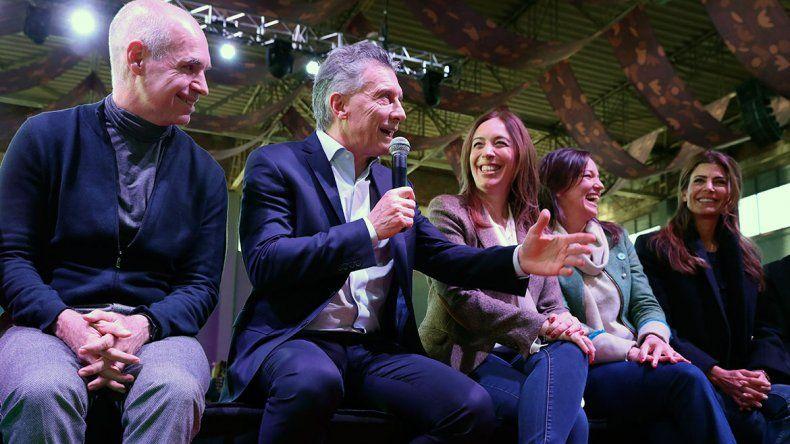 Macri, con Larreta y Vidal: Esto no es sarasa, es verdad