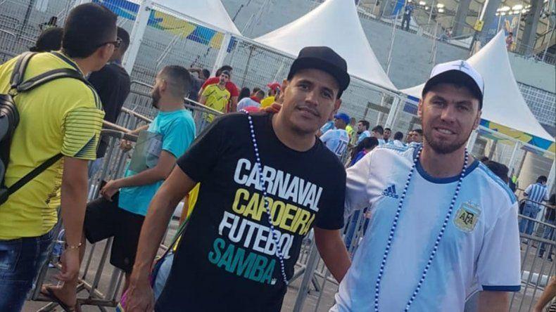 Copa América: el brasileño que no olvida Neuquén y ayuda a 2 de acá