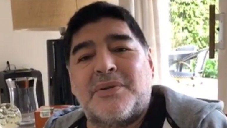 Diego Maradona: Yo no me estoy muriendo, con las enfermedades no se jode