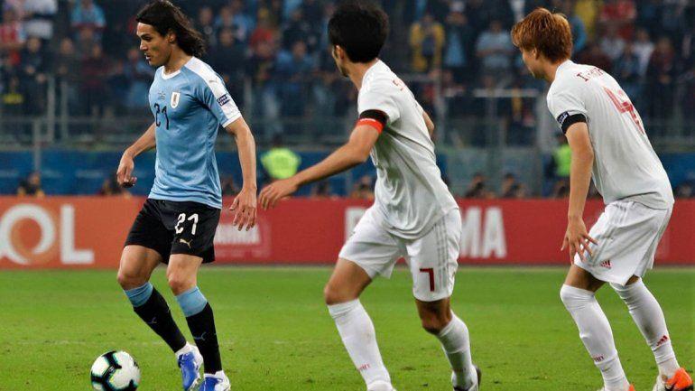 Sorpresa: Uruguay no pudo con Japón y empataron 2 a 2
