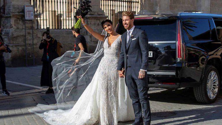 Bronca en boda de Ramos