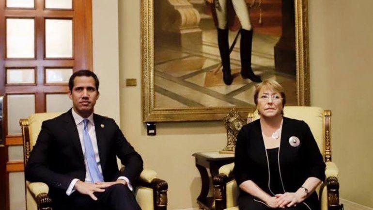 Guaidó: Bachelet me dijo que está muy preocupada