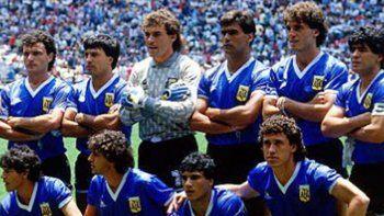 la increible historia de las inmortales camisetas ante inglaterra en mexico 86