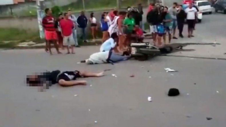 Un joven jugador del Vasco da Gama murió en un accidente de moto