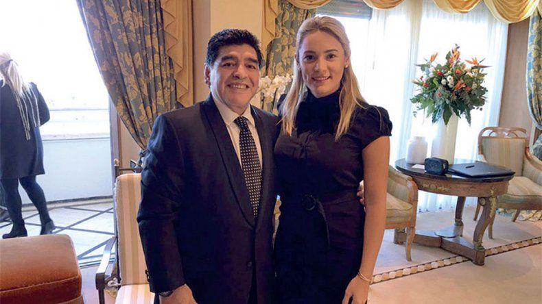 La jugada de Rocío Oliva antes de alejarse de Maradona y confirmar que está saliendo con otro hombre