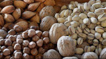 la produccion de frutos secos, en su mejor momento