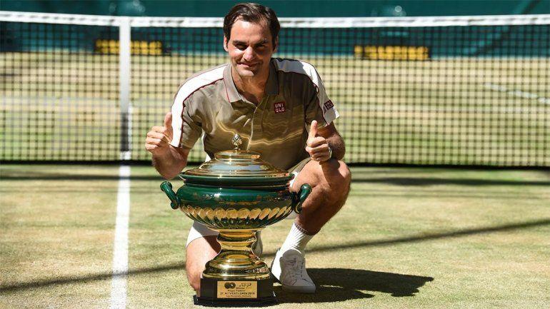 Campeón de campeones: Federer consiguió su título número 102