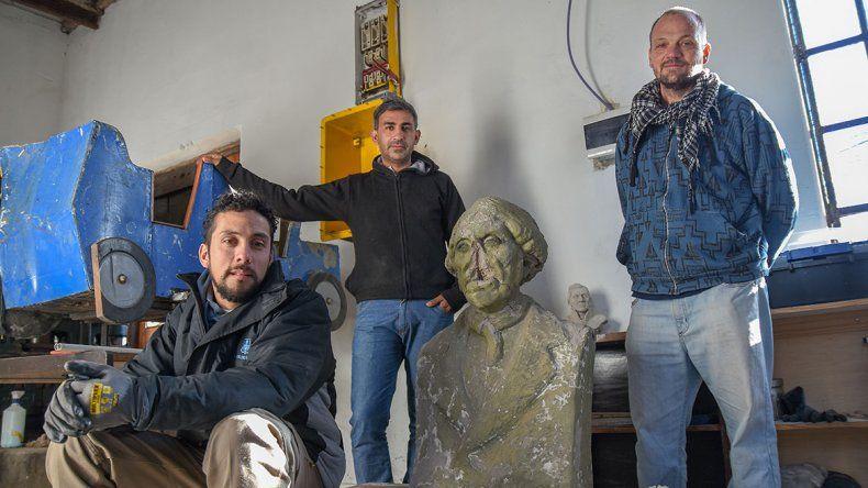 El dream team que repara monumentos en la ciudad