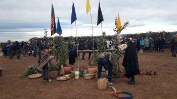 la comunidad mapuche de neuquen celebro el winoy xipantv