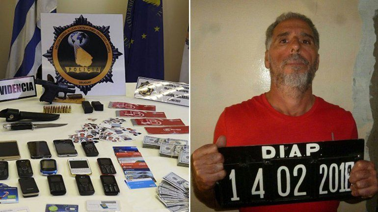 Un mafioso italiano se fugó de una cárcel uruguaya