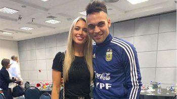 la novia del crack argentino que parece copiar a sol perez