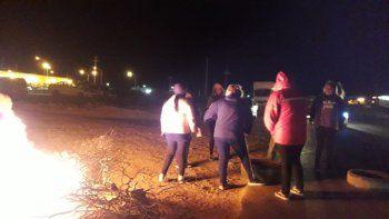 vecinos sitiaron anelo con cuatro cortes por falta de obras de seguridad vial