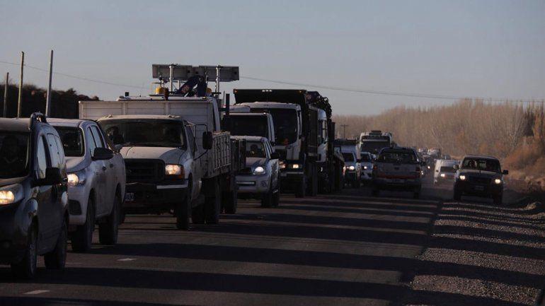 Tras casi 12 horas, levantaron los cortes de ruta en Añelo
