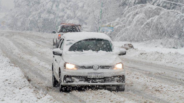 Cuáles son las rutas que no se pueden transitar por nieve