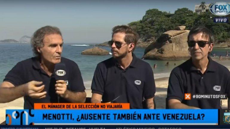 Ruggeri explotó contra Menotti por su ausencia en la Copa América