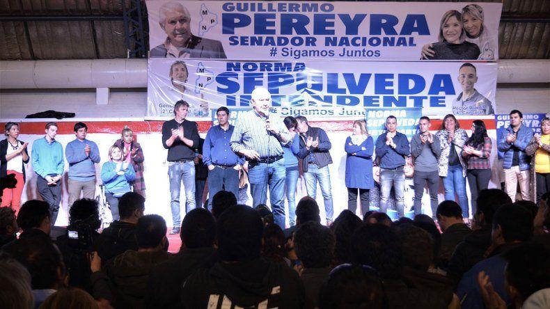 Fuerte respaldo petrolero a Pereyra en Rincón de los Sauces