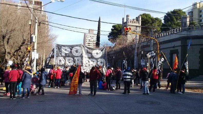Con un corte en el centro, organizaciones sociales una marcha el próximo miércoles para pedir trabajo
