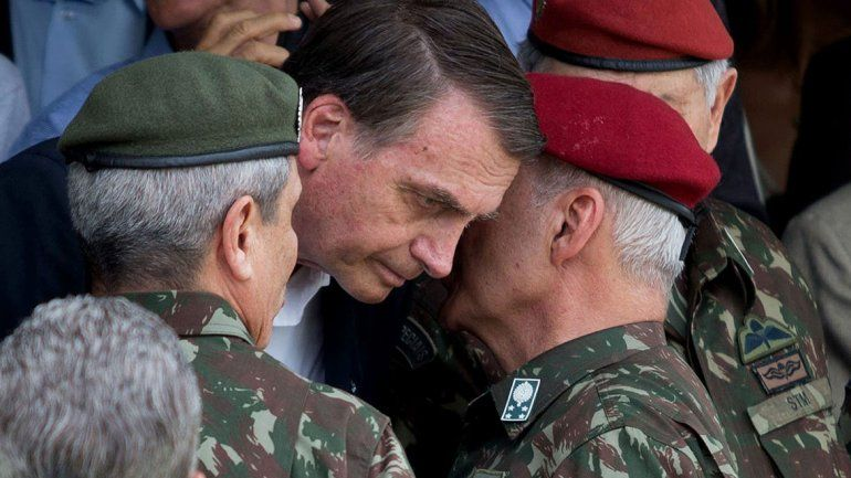 Brasil trata de mula calificada al militar detenido
