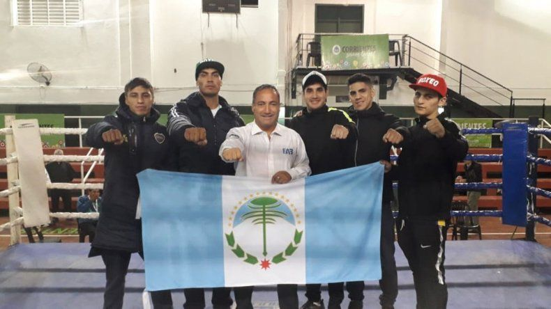 Neuquén trae plata y bronce de Corrientes en boxeo