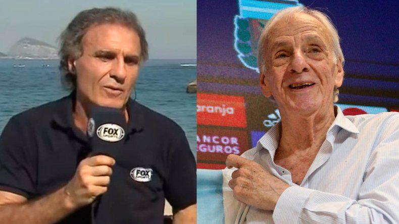 Ruggeri y Menotti se dijeron de todo en la previa de una final para Argentina