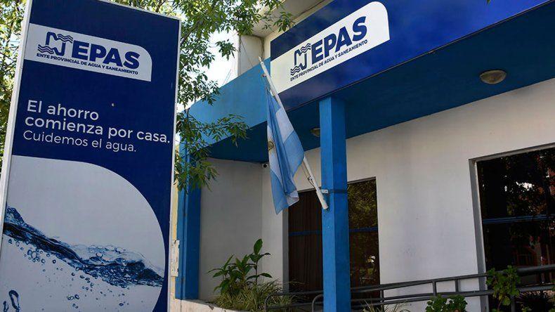 El EPAS advierte por posible falta de agua por un corte de CALF