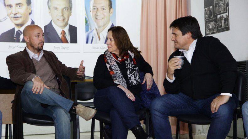 Gaido se reunió con el sector Violeta y destacó la unión y la fortaleza del MPN