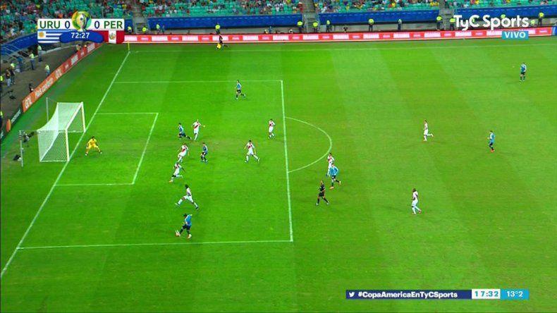 El VAR pisó con fuerza en Salvador: le anularon tres goles a Uruguay