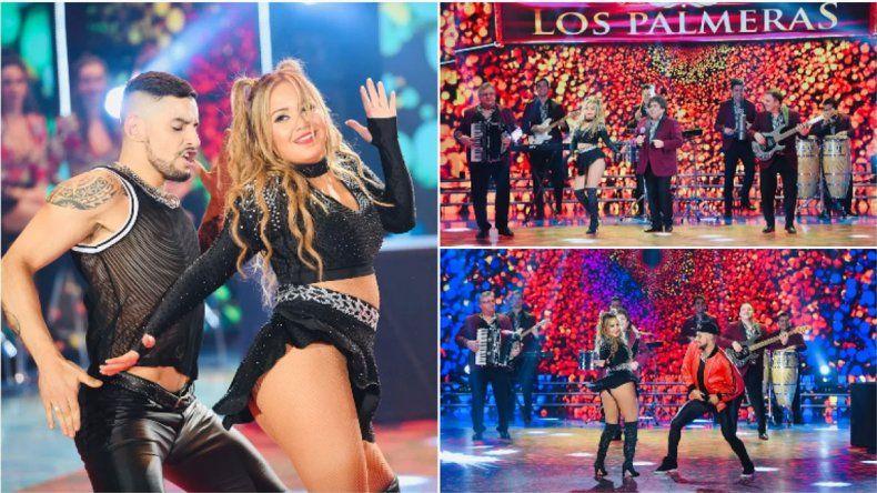 La rompió: Karina La Princesita revolucionó Showmatch con Los Palmeras y el Bombón asesino