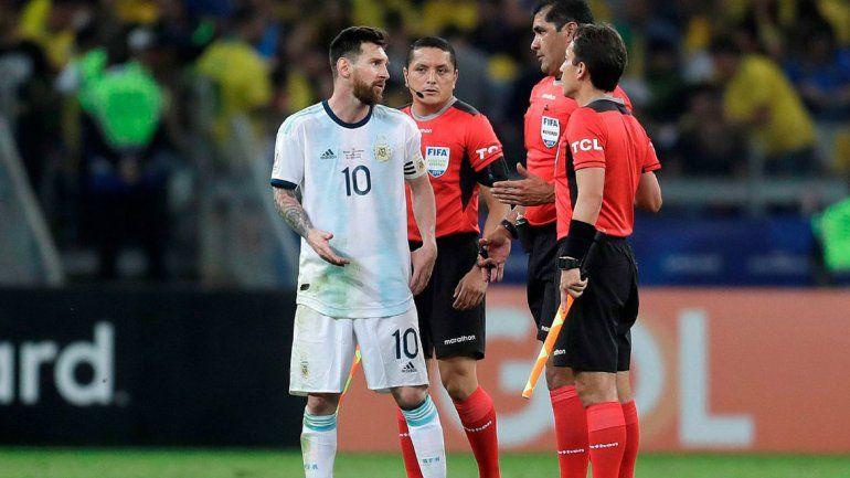 Messi, en modo capitán: Se cansaron de cobrar boludeces en esta Copa América