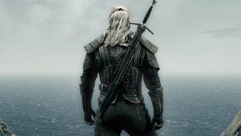 Henry Cavill como Geralt de Rivia.