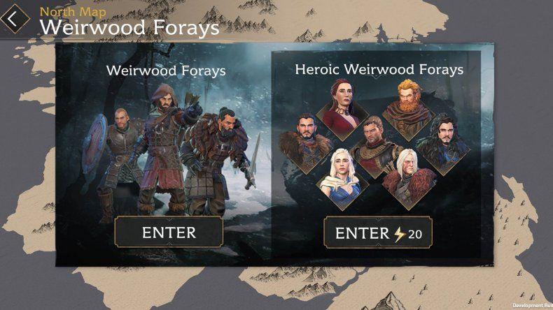 Los jugadores podrán usar a personajes de la serie.