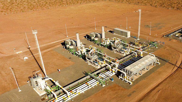TGN ya opera una planta para bombear más gas