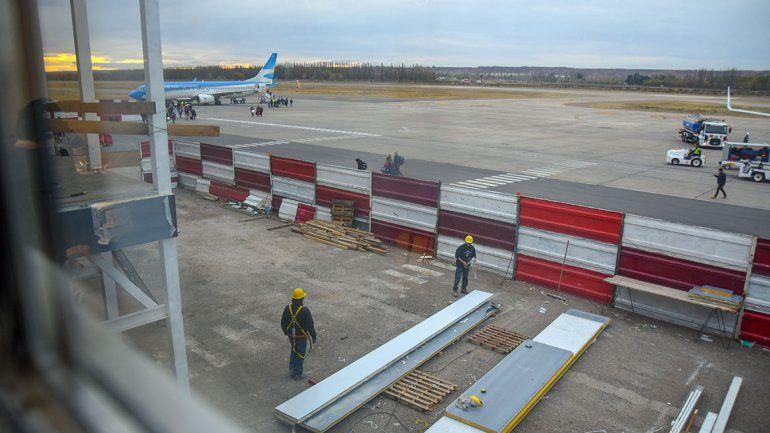 A fin de mes estará listo el aeropuerto