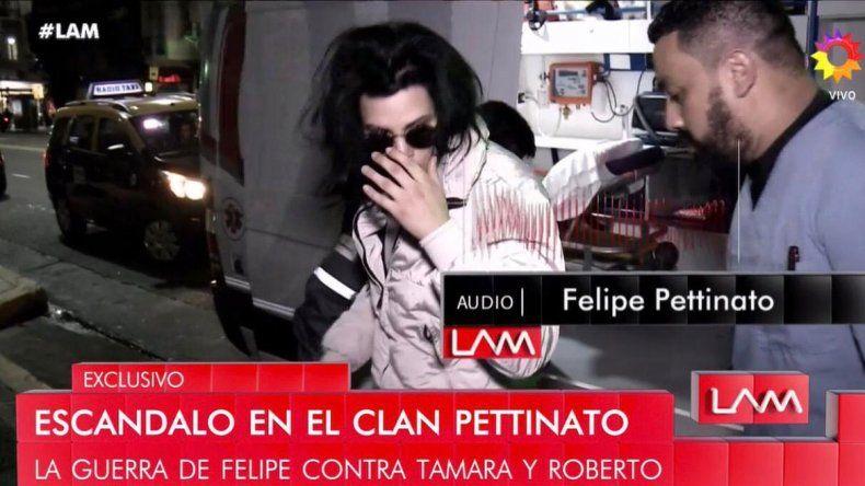 Felipe Pettinato denunció que está internado contra su voluntad: Mi padres y Tamara me traicionaron