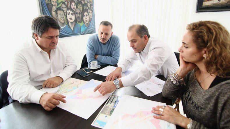 Gaido: Con Baggio trabajamos en un plan habitacional