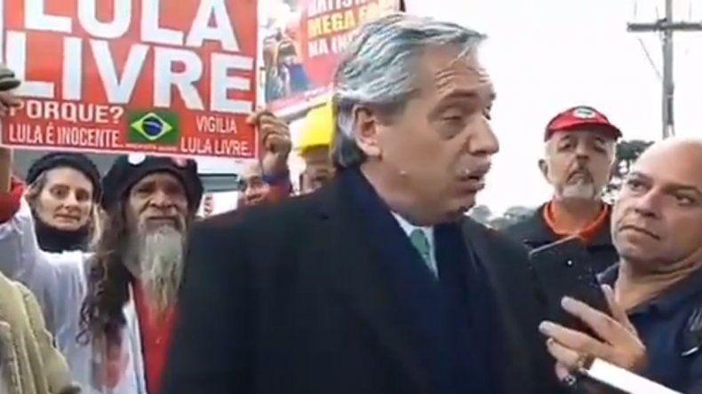 Alberto Fernández visitó a Lula en prisión: No dudo de su inocencia