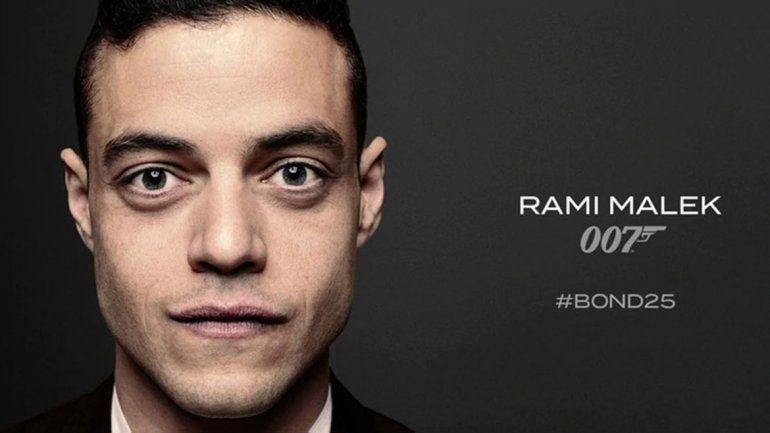 Las condiciones de Rami Malek para ser el villano de James Bond