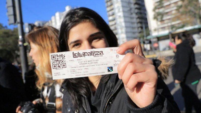 Se vendieron 150 mil entradas para el Lollapalooza 2020