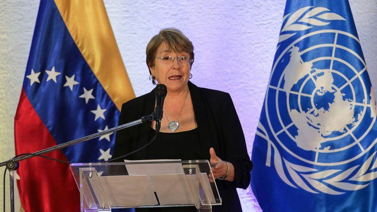 Bachelet y las 7.000 muertes en Venezuela