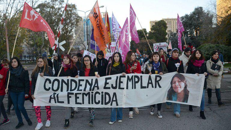Marcharon para pedir justicia por el femicidio de Delia