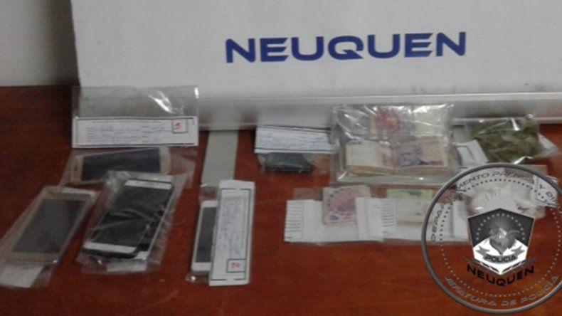 Centenario: allanaron una casa y secuestraron marihuana y más de 26 mil pesos